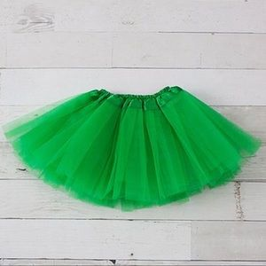 Other - Green Tulle Tutu for Baby